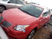 Pontiac Vibe 2005 1.8 AWD Red | Cars for sale in Lagos State, Apapa