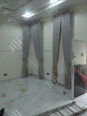 Italian Grey Curtain Design With Tremming | Home Accessories for sale in Lagos State, Lekki Phase 2