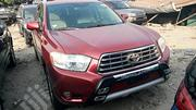 Toyota Highlander 2010 Red   Cars for sale in Lagos State, Apapa