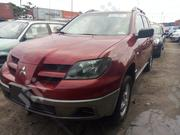 Mitsubishi Outlander 2004 Red | Cars for sale in Lagos State, Ojo