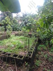 3qualter Land for Sale With Foundation at Olambe Akute | Land & Plots For Sale for sale in Ogun State, Ilaro