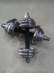 Pair of 10 Kg Chrome Dumbell | Sports Equipment for sale in Lagos State, Ikeja