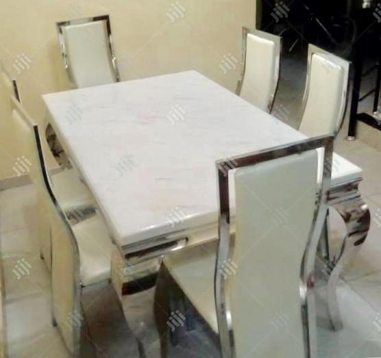 Quality New 6- Seater Marble Dining Table