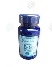 Puritan's Pride Vitamin B-6 50 Mg -100 Tablets | Vitamins & Supplements for sale in Lagos State, Surulere