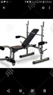 Weight Bench With 50kg Plate and Rod | Sports Equipment for sale in Lagos State, Ikoyi