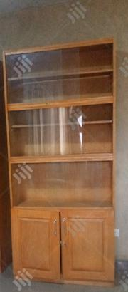 Wooden Shelf With Glass   Furniture for sale in Oyo State, Ibadan South West
