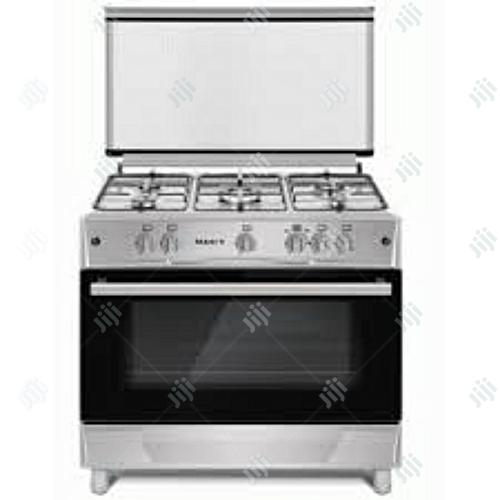 Maxi Standing Gas Cooker 5burners With Oven...Made In Turkey