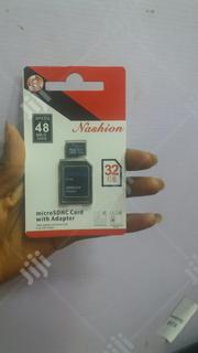 Nashion Micro Sd Card 32gb | Accessories for Mobile Phones & Tablets for sale in Lagos State, Ikeja