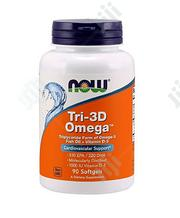 Now Foods Tri-3d Omega - 90 Softgels   Vitamins & Supplements for sale in Lagos State, Surulere