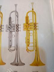 Premier Gold And Silver Trumpet | Musical Instruments & Gear for sale in Lagos State, Ojo