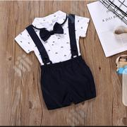 Suspender Short, Polo and Bow Tie | Children's Clothing for sale in Rivers State, Port-Harcourt
