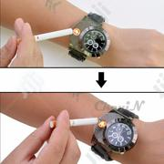 USB Charging Casual Flameless Lighter Watch   Watches for sale in Lagos State, Ikeja