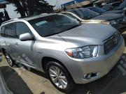 Toyota Highlander 2009 Silver   Cars for sale in Lagos State, Apapa