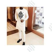 Senator Men's Wear -White With Chest Ace Details | Clothing for sale in Lagos State, Ojodu