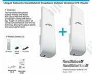 Ubiquiti Networks Nanostation Loco M5 5ghz 2×2 Wireless Access Point | Networking Products for sale in Lagos State, Ikeja
