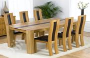 Oak Dinning Chair And Table   Furniture for sale in Lagos State, Ikeja