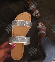 Glittering Flat Slippers | Shoes for sale in Lagos State, Lekki Phase 1