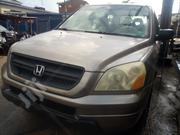 Honda Pilot 2004 LX 4x4 (3.5L 6cyl 5A) Gold | Cars for sale in Lagos State, Yaba
