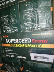 200ah/12v Superceed Battery | Electrical Equipments for sale in Lagos State, Ojo