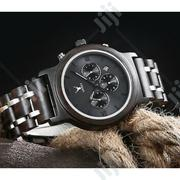 Leeev Steel And Sandal Wood Watch | Watches for sale in Lagos State, Ikeja