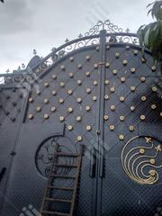 Black With Gold Rose Gate | Doors for sale in Imo State, Owerri