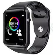 PROMO! Smart Watch Phone Sim Card Make Calls | Smart Watches & Trackers for sale in Lagos State, Ikeja