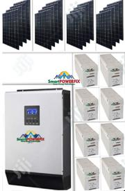 Solar Powered 5kva Inverter Installation With Quanta Batteries | Solar Energy for sale in Lagos State, Ikoyi