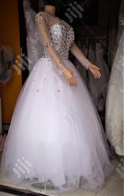 Wedding Gown for Rent With Veil Robes | Wedding Wear for sale in Lagos State, Magodo