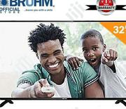 Bruhm 32-inch BFP-32LEW LED TV & FREE Wall Bracket | TV & DVD Equipment for sale in Plateau State, Jos