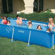 15ft By 7ft Rectangular Metal Frame Pool | Sports Equipment for sale in Lagos State, Ikeja