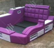 Purple and White Bed | Furniture for sale in Lagos State, Ajah