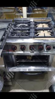 Gas Cooker With Oven 4burners Stainless | Kitchen Appliances for sale in Lagos State, Lagos Mainland