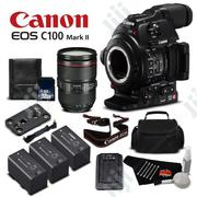 Canon C100 Mark Ii Camera | Photo & Video Cameras for sale in Lagos State, Ikeja