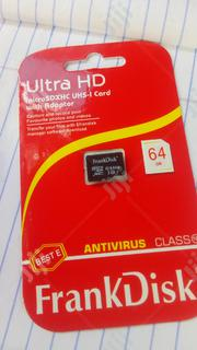 Original 64gb Frankdisk Memory Card | Accessories for Mobile Phones & Tablets for sale in Lagos State, Alimosho