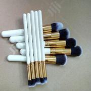 10 Set Kabuki Brush | Makeup for sale in Lagos State, Amuwo-Odofin