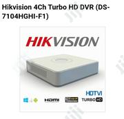 Hikvision 4ch Turbo HD DVR (DS-7104HGHI-F1) | Security & Surveillance for sale in Lagos State, Ikeja