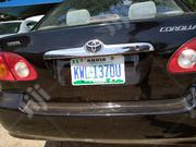 Toyota Corolla 2003 Sedan Automatic Black | Cars for sale in Abuja (FCT) State, Garki 2