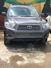 Toyota Highlander Sport 2008 Gray | Cars for sale in Lagos State, Ikeja