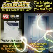 Solar Powered Motion Sensor Waterproof Led Light | Solar Energy for sale in Lagos State