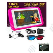 7-Inch 1GB RAM +16GB Storage Android 6.0 Children Tablet+ Proof Case | Toys for sale in Lagos State, Alimosho