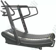 Commercial Manual Curved Treadmill Zcy-8002   Sports Equipment for sale in Rivers State, Port-Harcourt