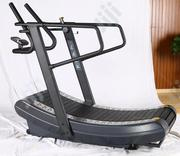 Manual Commercial Curved Treadmill Zcy-8002 | Sports Equipment for sale in Lagos State, Surulere