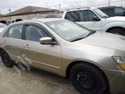 Honda Accord Sedan LX V6 Automatic 2005 Gold | Cars for sale in Lagos State, Isolo