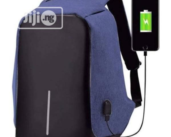 Waterproof Anti-theft Laptop Backpack With Usb Charger