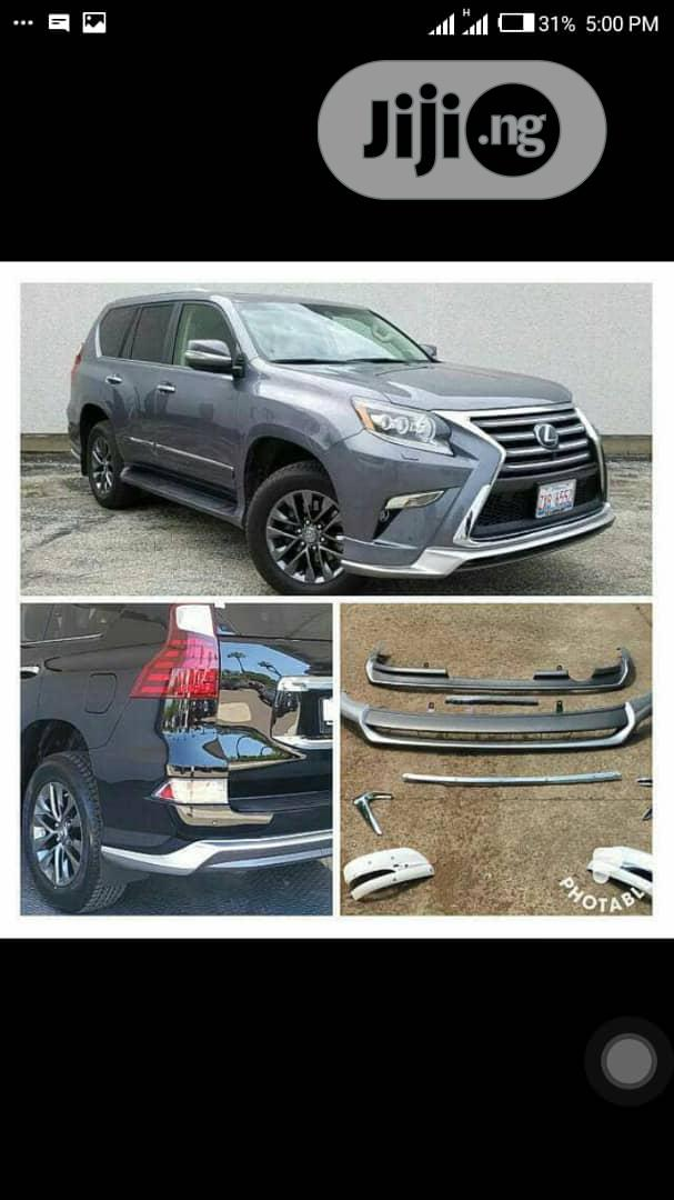 Upgrade Kits For Gx460 To 2018.