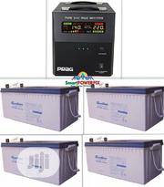 Rugged 2.5kva 24v Inverter Installation With 4 GASTON Batteries | Electrical Equipments for sale in Lagos State, Ilupeju