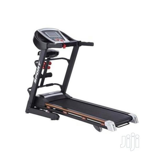 Brand New Treadmill 2.5hp With Massage Sit Up and Dumbell
