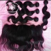 14 Inches Human Hair With Frontal | Hair Beauty for sale in Lagos State, Ikeja