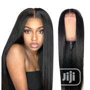 20 Inches Straight Human Hair Wig With Closure | Hair Beauty for sale in Lagos State, Ikeja