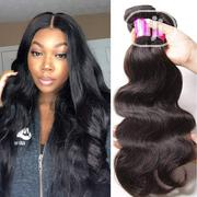 20 Inches Body Wave Human Hair Wig With Closure | Hair Beauty for sale in Lagos State, Ikeja